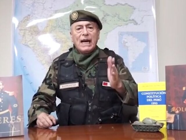 Sagasti revela que Wilson Barrantes ya no integra comisión de transferencia del Mindef