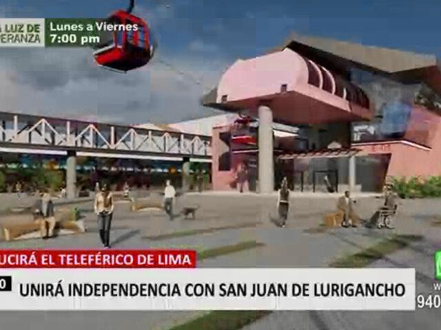 MML presentó estudios actualizados de los teleféricos que unirá Independencia con SJL
