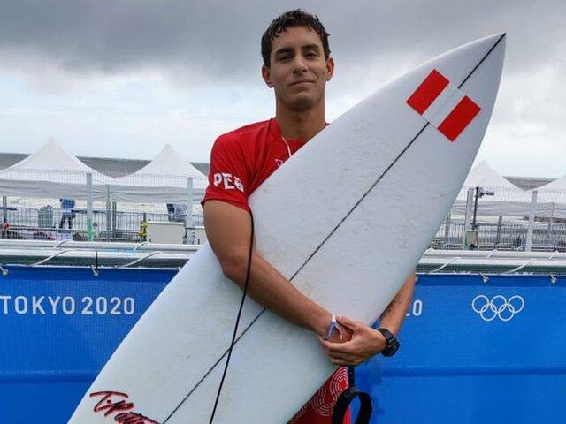Peruanos en Tokio 2020: surfista Luca Mesinas pidió perdón al Perú al borde de las lágrimas