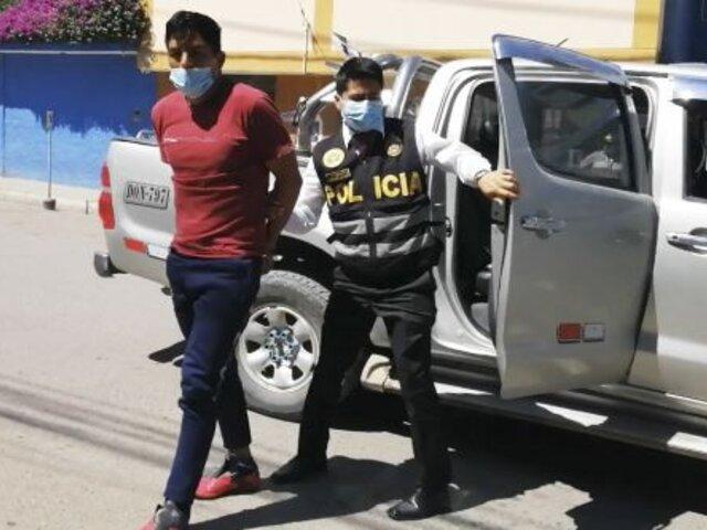 PNP incautó más de 65 kilos de drogas y detuvieron a 7 personas en Huancayo
