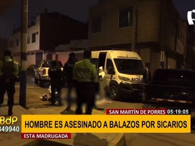 SMP: hombre es asesinado a balazos en presunto ajuste de cuentas