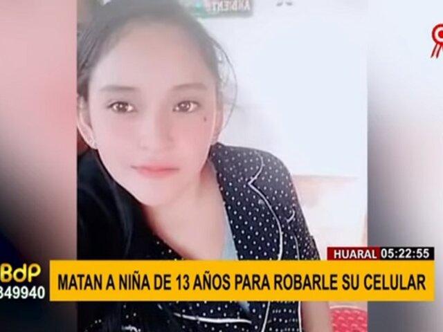 Chancay: adolescente fue apuñalada por resistirse al robo de su celular