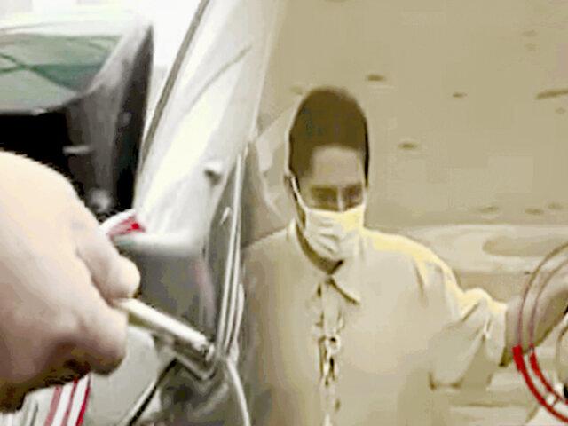 ¡No deje sus vehículos en las calles! ladrones de autopartes al acecho en Pueblo Libre