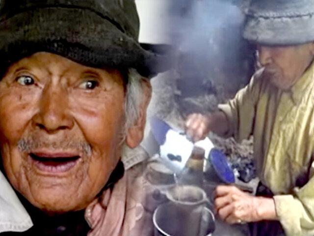 Peruano más longevo en Huánuco: Don Marcelino ya vivió dos centenarios de independencia