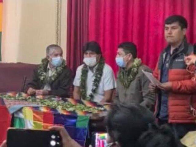"""Guillermo Bermejo se reunió con Evo Morales y resaltó su búsqueda de """"una América Latina socialista"""""""