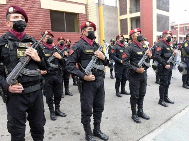 Fiestas Patrias: PNP desplegará 25 mil efectivos en Lima durante el 28 y 29 de julio