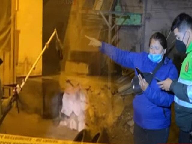 Arrojan granada de guerra a casa de prestamista en SJL