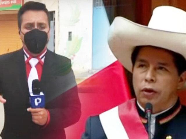 Gran expectativa en Tacabamba por juramentación de Castillo