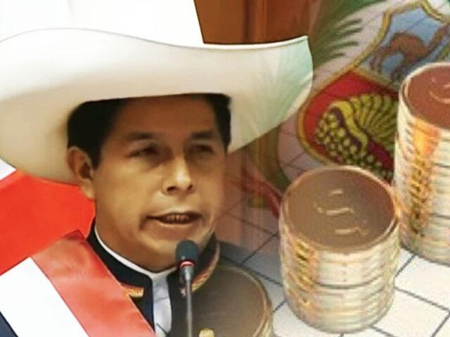 """Pedro Castillo: """"No pretendemos hacer una política de control de cambios ni de estatizaciones"""""""