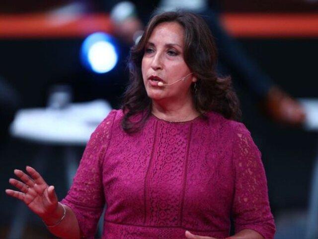 Vicepresidenta Dina Boluarte descartó que exista algún retraso en juramentación de ministros