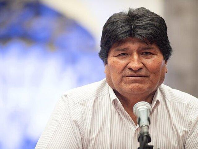 """Evo Morales sobre Pedro Castillo: """"Es importante garantizar esas grandes luchas"""""""