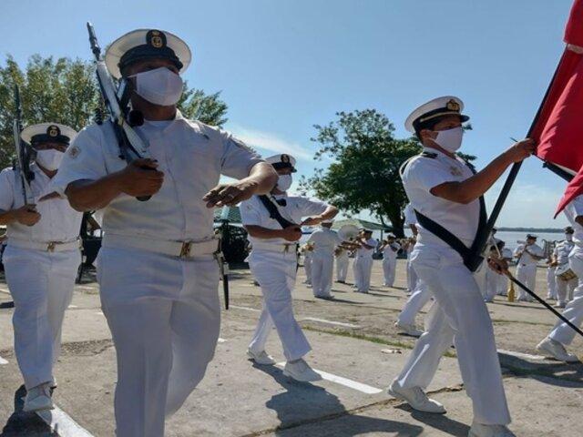 Loreto: realizaron desfile de honor por el Bicentenario del Perú