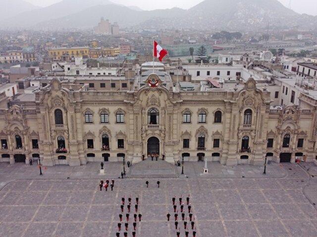 Presidente Castillo anuncia cederá Palacio de Gobierno al nuevo Ministerio de las Culturas