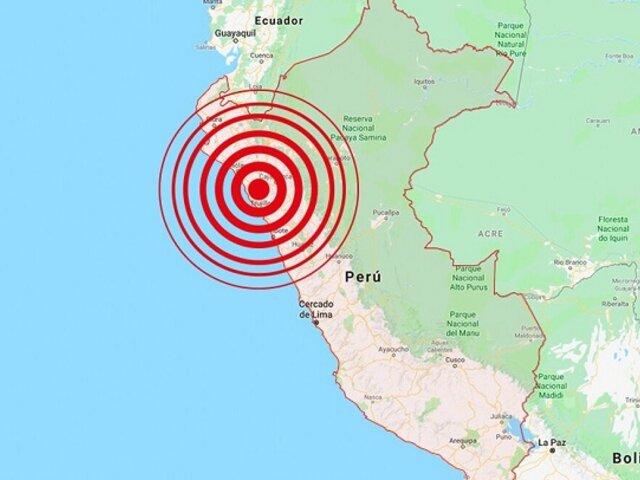 Piura es sorprendido por fuerte sismo de 6.1 de magnitud