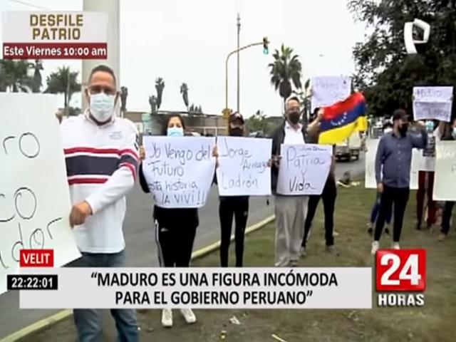 Venezolanos en Perú estuvieron en alerta por eventual llegada de Nicolás Maduro al país