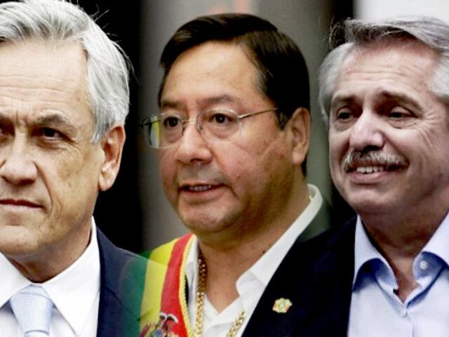 Presidentes de Chile, Argentina y Bolivia participarán en juramentación simbólica