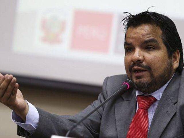 Julio Arbizu sobre designación de Guido Bellido: Es el primer grave error político del Gobierno