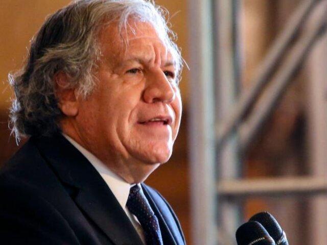 Secretario general de la OEA anunció que dio positivo al COVID-19