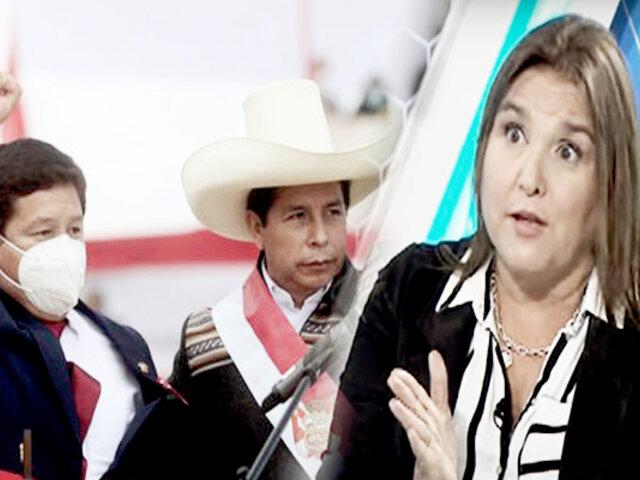 """Marisol Pérez sobre Bellido: """"lo descalifica tener una investigación por terrorismo"""""""