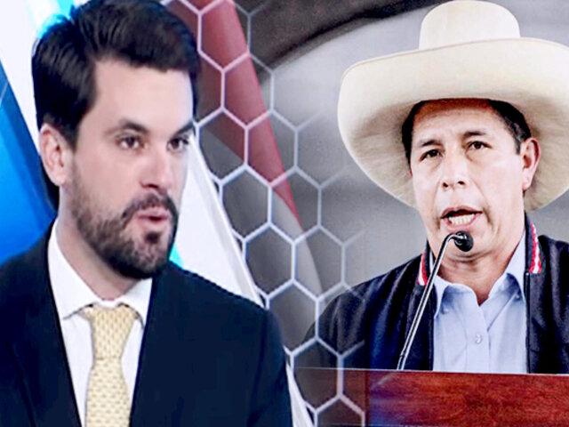 """Javier Bedoya: """"el Congreso debería evaluar la vacancia presidencial"""""""