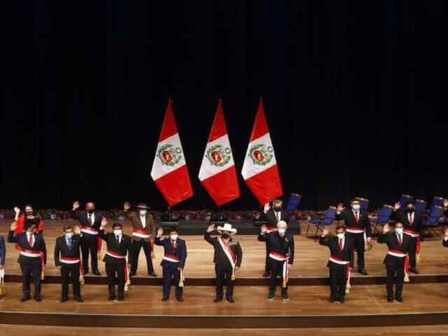 Congresistas opinaron sobre conformación de gabinete ministerial de Pedro Castillo