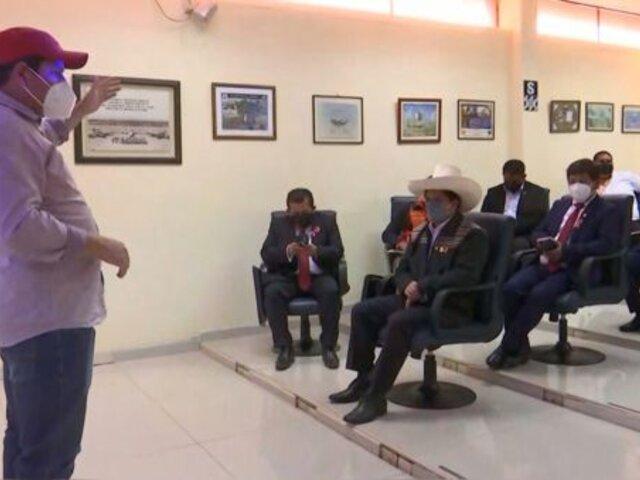 Piura: Presidente Castillo se reunió con autoridades para evaluar daños tras sismo en Sullana