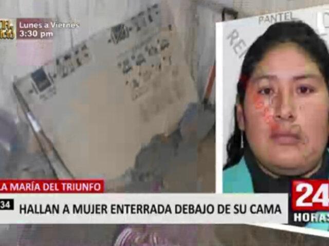 Mujer hallada muerta en VMT: familiares piden encontrar a su expareja para esclarecer caso