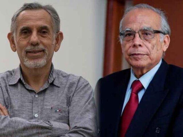 Pedro Francke y Aníbal Torres juraron como ministros de Economía y Justicia