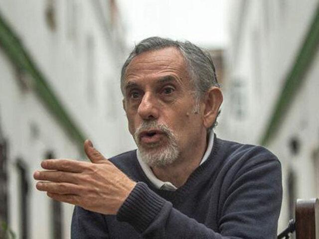 Pedro Francke: Afiliados ONP con 10 años de aportes ya pueden registrarse para recibir pensión