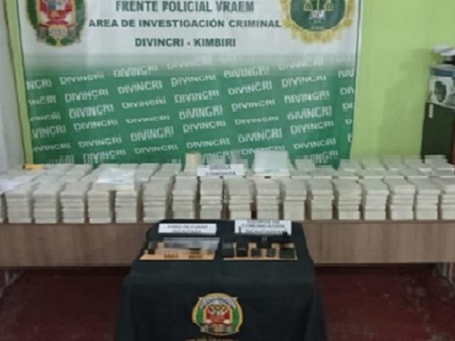 Ayacucho: intervienen a tres personas en Huanta con droga que iba a ser trasladada al exterior del país