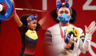 Tokio 2020: Ecuatoriana Neisi Dajomes gana el oro en halterofilia