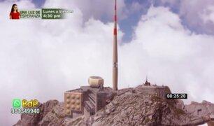 ¡Increíble! Crean cañón láser para desviar rayos a 2 500 metros de altura