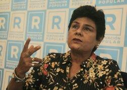 Renovación Popular: Norma Yarrow, Diego Bazán y María Córdova renunciaron a la bancada