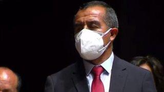 Iber Maraví: ministro de Trabajo rechazó vínculos con el Movadef
