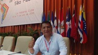 """Secretario de Perú Libre aseguró que cheque de Cerrón fue un """"préstamo"""" por la pandemia"""