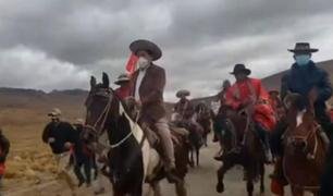 Cusco: Guido Bellido llegó a Chumbivilcas y su seguridad estuvo a cargo de los ronderos