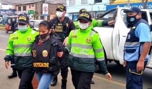 Ventanilla: detienen a mujer que era buscada hace 4 años por el delito de tráfico ilícito de drogas
