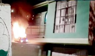 Ica: atacan vivienda de presunto violador de una menor de edad
