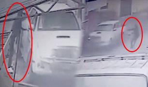 ¡De milagro! joven casi muere durante asalto a quemarropa por robarle su camioneta