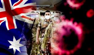 Ejército sale a las calles a hace respetar confinamiento en Australia
