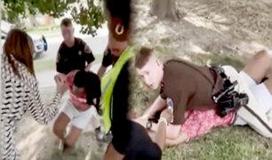 EEUU: violenta intervención a joven afroamericana causa indignación