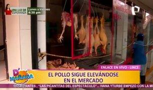 Mercado de Lince: Precio de pollo y tomate continúa elevándose