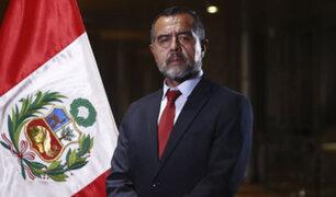Ministro Maraví niega categóricamente haber influenciado en la inscripción de la Fenate Perú