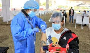 Junín: inician vacunación para mayores de 28 años