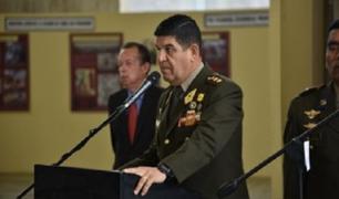 """Ministro del Interior supervisó plan de operaciones """"Impacto 2021"""""""