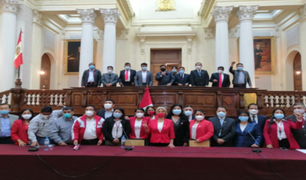 Bancada de Perú Libre presidirá siete comisiones del Congreso de la República