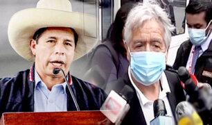 """Virgilio Acuña tras reunión con Castillo: """"no he venido hablar de Antauro Humala"""""""