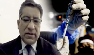 """Vacunación exitosa: """"lo principal es la organización"""", dijo el director de Salud Tacna"""