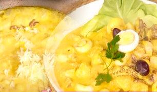 D'Mañana te enseña a preparar un exquisito platillo marino: ají de mariscos