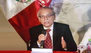 Torres: Se busca vacancia presidencial con regulación de la cuestión de confianza